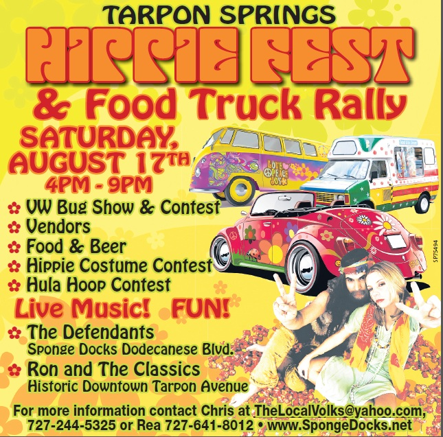 Tarpon Springs HippieFest 2013