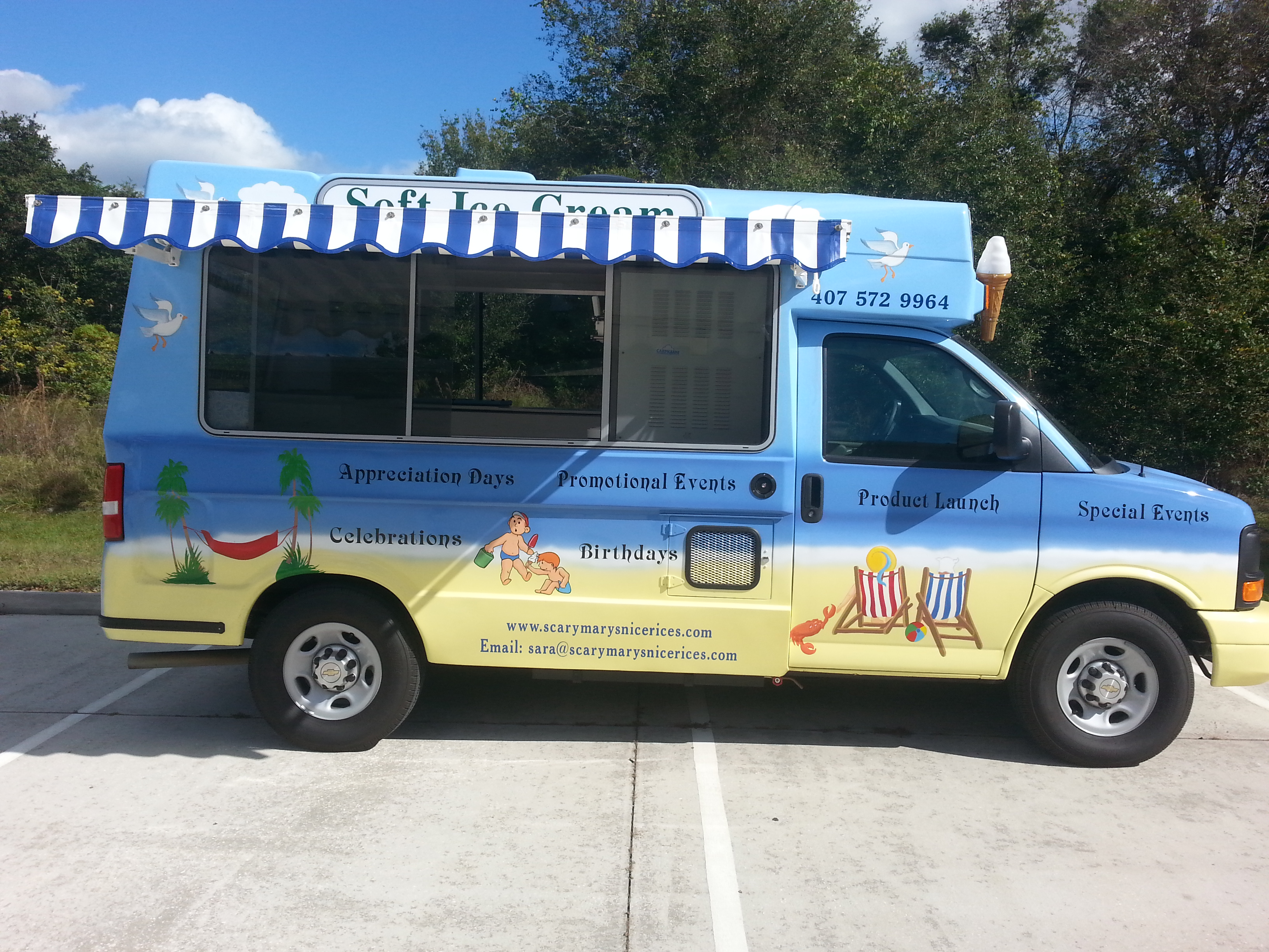 Ice Cream Truck For Sale Tampa Bay Food Trucks