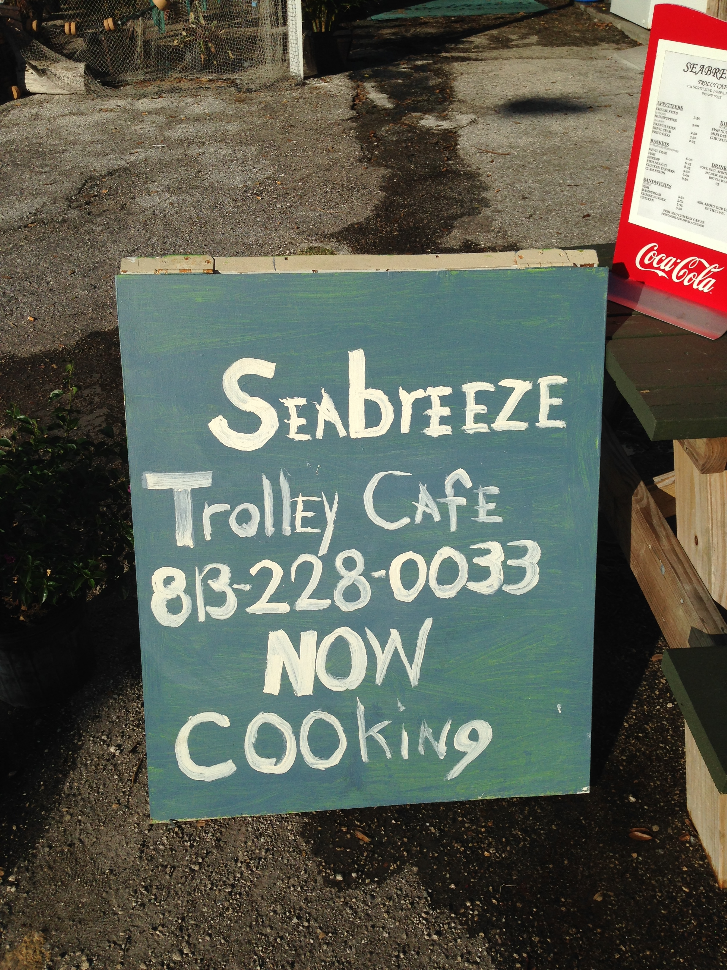 Seabreeze Trolley Cafe