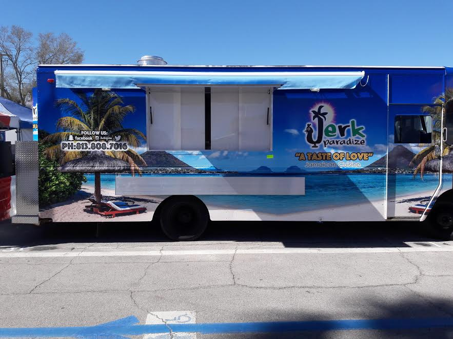 Jerk Paradize Food Truck Tampa