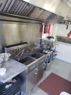 Used Food Trailer for Sale in Tampa Florida Fryers