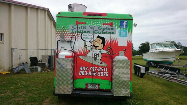 Chili 'n' Spice Indian Food Truck