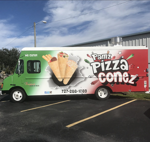 Pamz Pizza Conez Food Truck