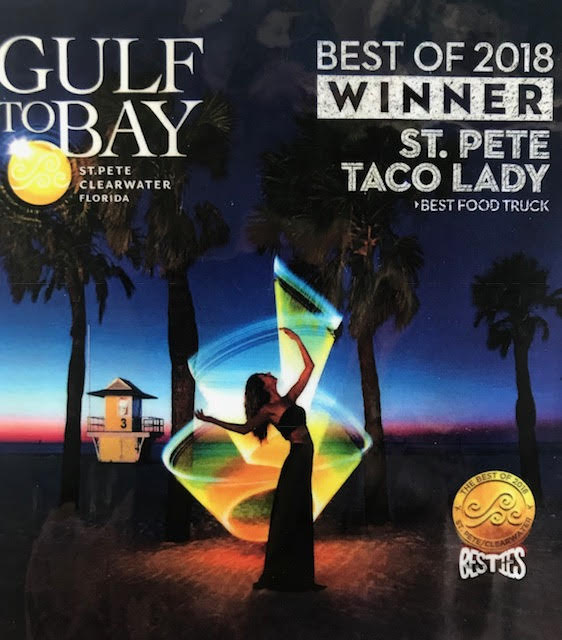 Gulf to Bay Award Winner St Pete Taco Lady 2018