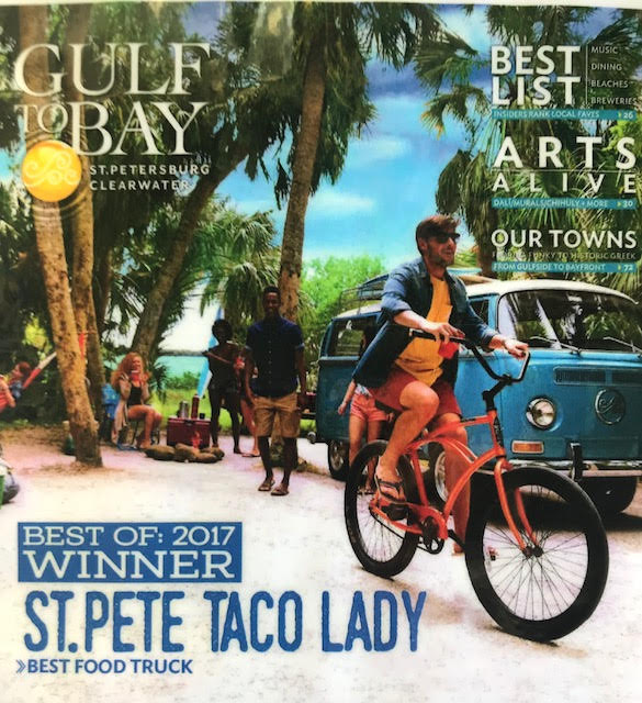 Gulf to Bay Award Winner St Pete Taco Lady 2017
