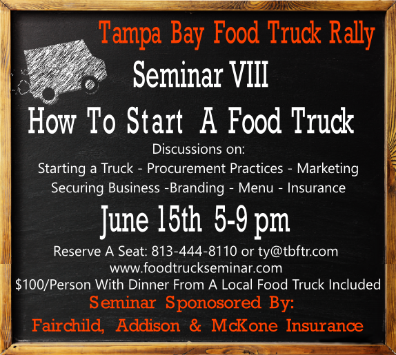 Seminar on How to Start a Food Truck
