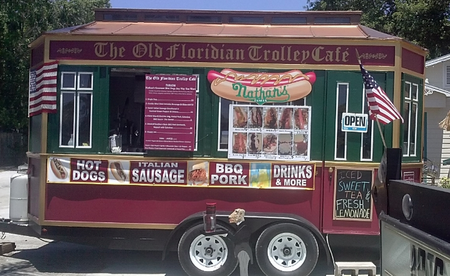 Trolley Concession Trailer For Sale Tampa Bay Food Trucks