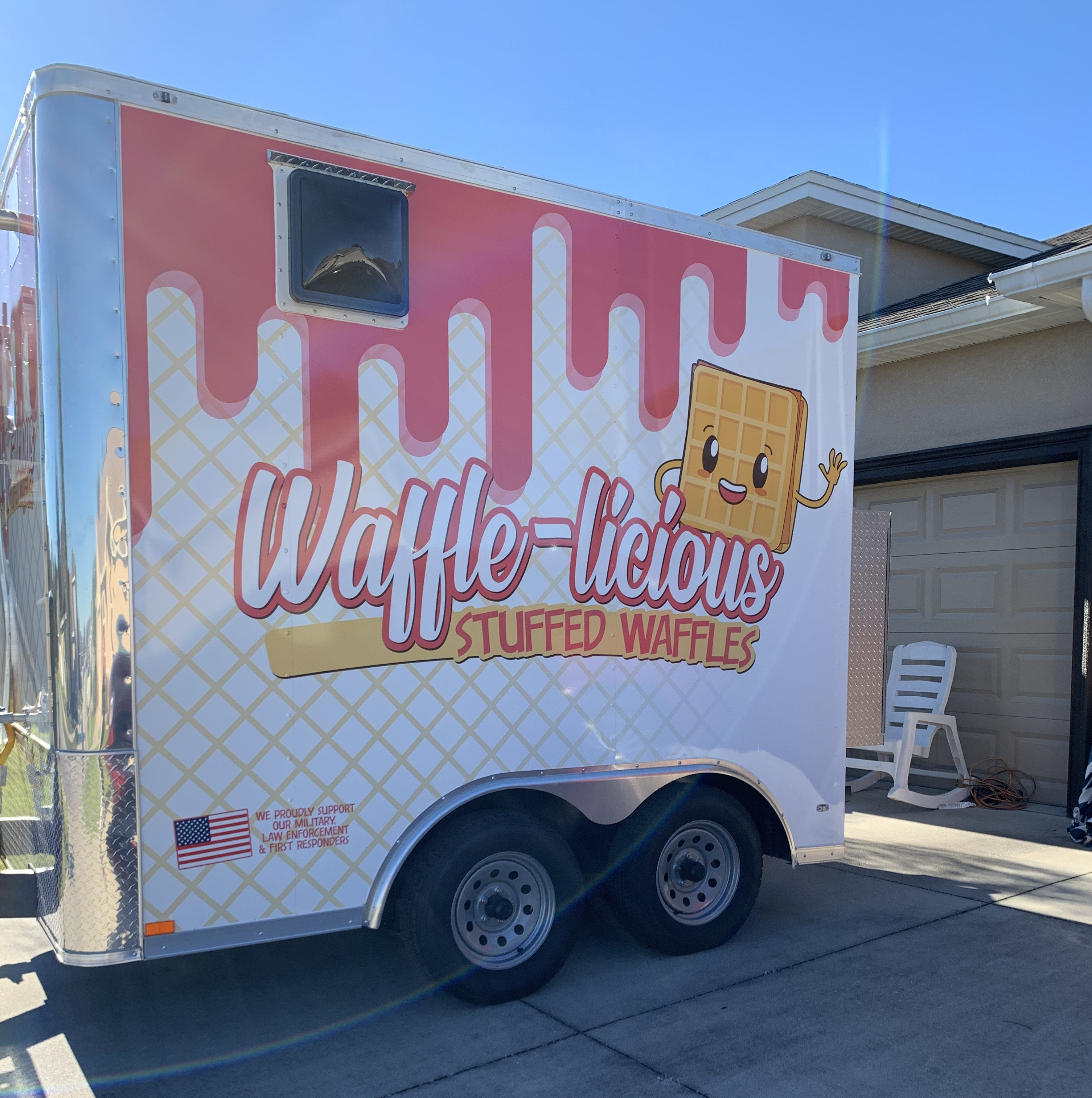 waffle food truck in tampa